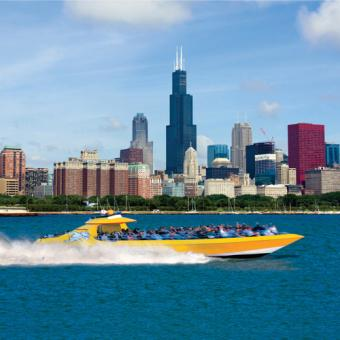 High Speed Ride in Chicago