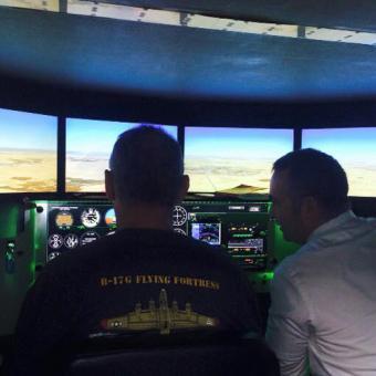 Flight simulator near Miami