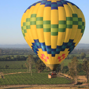 Balloon Flight in Sonoma Valley
