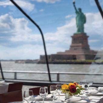 Gourmet Sunday Champagne Brunch Cruise in New York