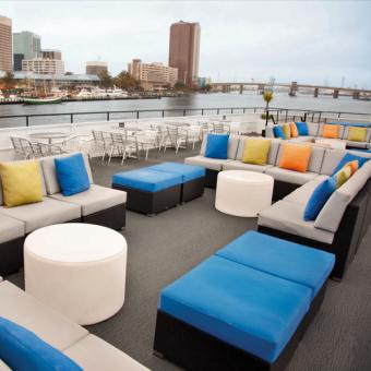 Lounge Deck on Norfolk Dinner Cruise