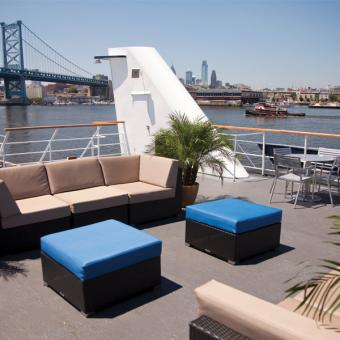Deck View Lunch Cruise Philly