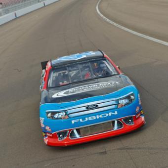 NASCAR Thrill Ride in Sparta