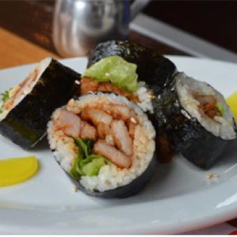 Sushi during Food Tour of Richmond