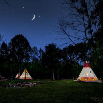 TeePee Camping Experience