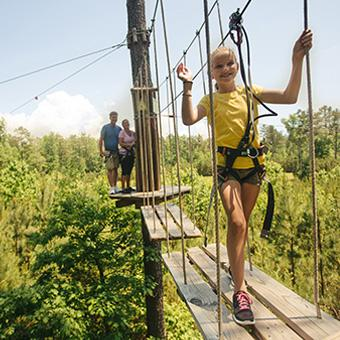 Family Friendly Canopy Tour