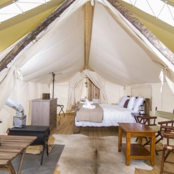 Deluxe Safari Tent in Moab