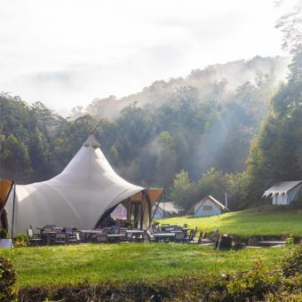 Luxury Campground in the Smokey Mountains