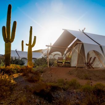 Safari Tent at Tanque Verde Ranch