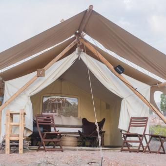 Safari Tent Glamping near Zion