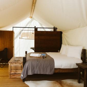 Luxury Camp Tent in Tucson