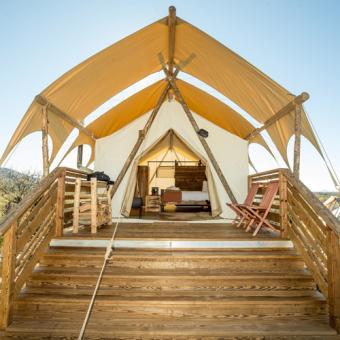 Deluxe Safari Tent in Arizona