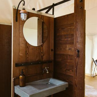 Glamping on the Tanque Verde Ranch