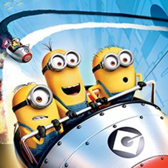Despicable Me Ride  at Universal Studios