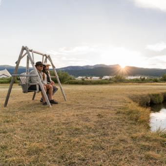 Camping near Yellowstone