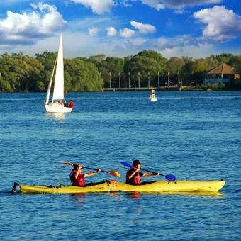Kayak the Potomac near Northern Virginia