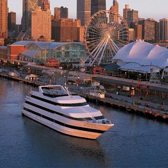 Gourmet Dinner Cruise in Chicago