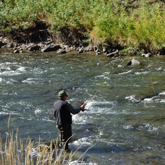 guided fly fishing in salt lake city at cloud 9 living gifts