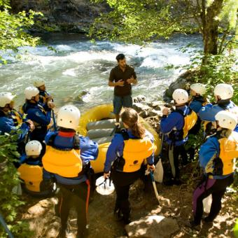 Raft the White Salmon River