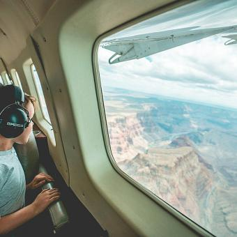 Flight Over Grand Canyon