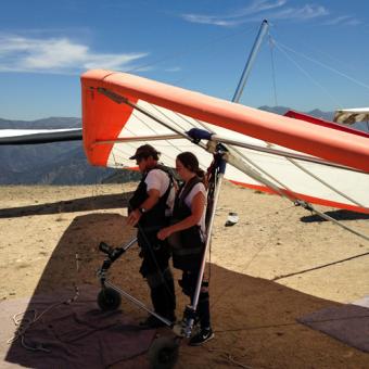 Hang Gliding Experience in LA