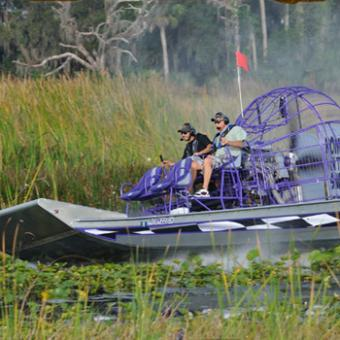 Drive an Airboat near Orlando