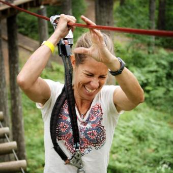 Zipline and Aerial Canopy Adventure near portland