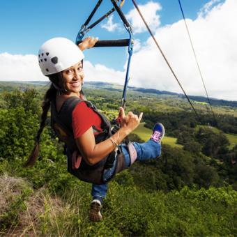 Zipline and Waterfalls of Maui