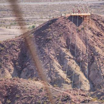 Ziplining Near Vegas