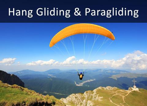 Hang Gliding Amp Paragliding Experiences Hang Glider Rides