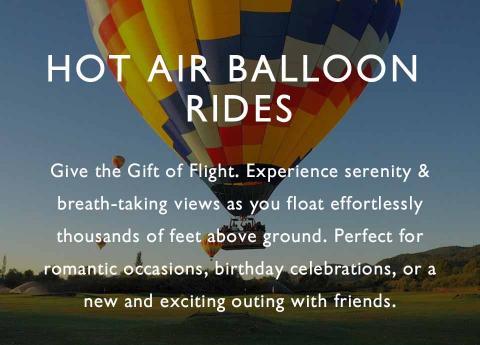 Hot Air Balloon Rides Tours Flights Trips Experiences