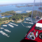 Fly over Lake Lanier Island in an Light Sport Aircraft