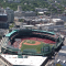 Fenway Park Aerial View from Helicopter