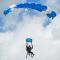 Parachute Landing near Dallas, TX