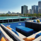 Lounge Deck on Sunday Brunch Cruise in Chicago, IL