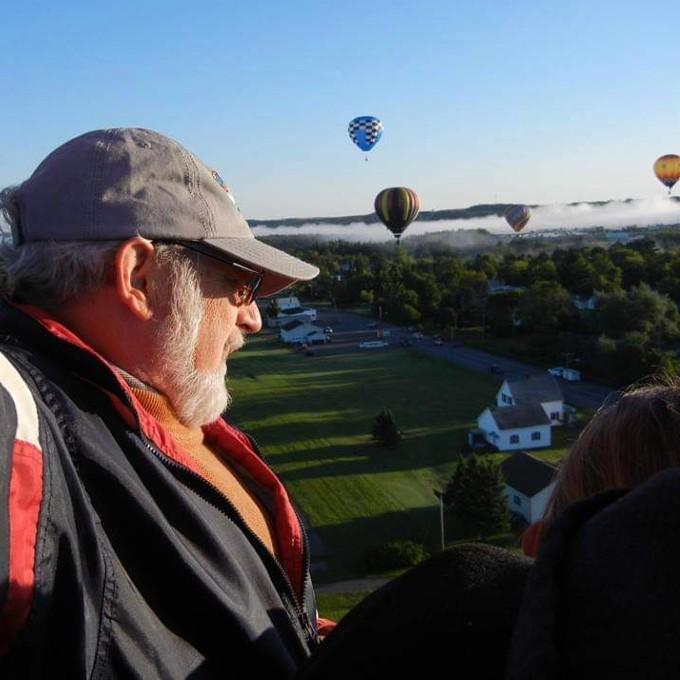 Shared Hot Air Balloon Ride in Dixfield, ME
