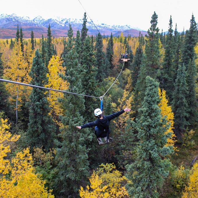 Zipline Course in Alaska