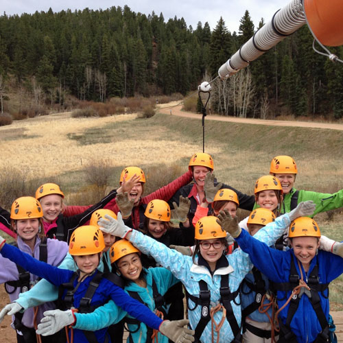 Zipline Tour in Conifer Colorado