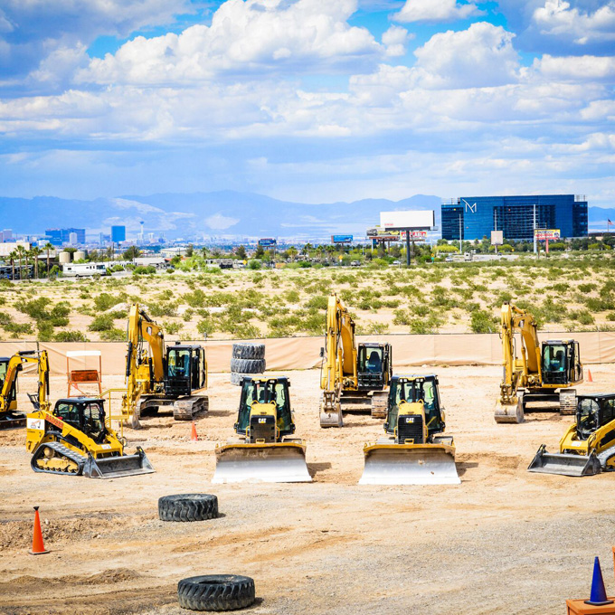 Las Vegas Heavy Machinery Experience