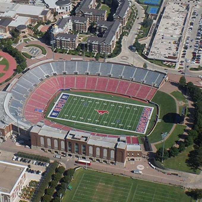 Sightseeing Airplane Tour over SMU Stadium Dallas