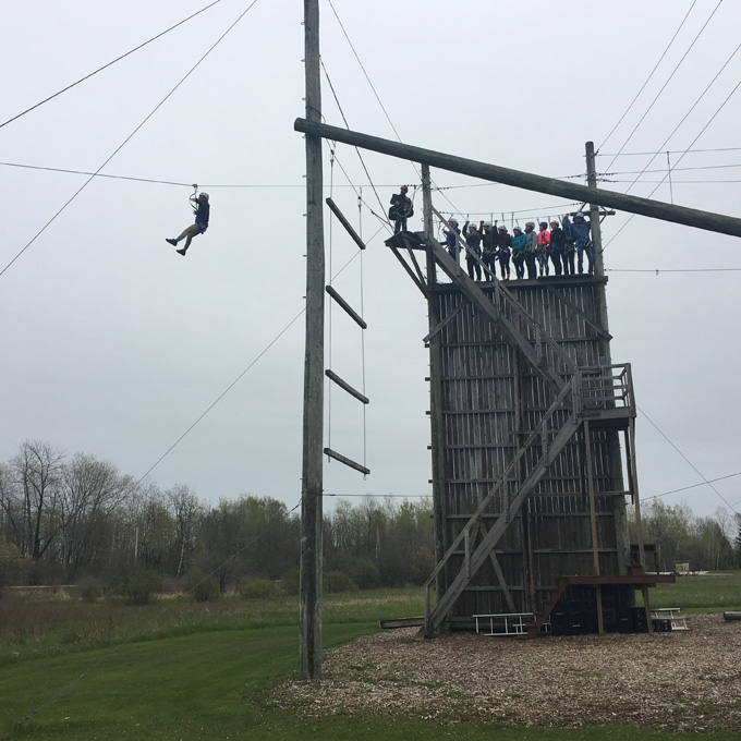 Wisconsin Zipline Adventure