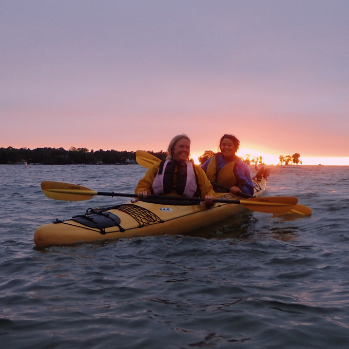 Paddle Along in Sturgeon Bay