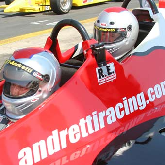 Indy Car Ride Along at Dover International