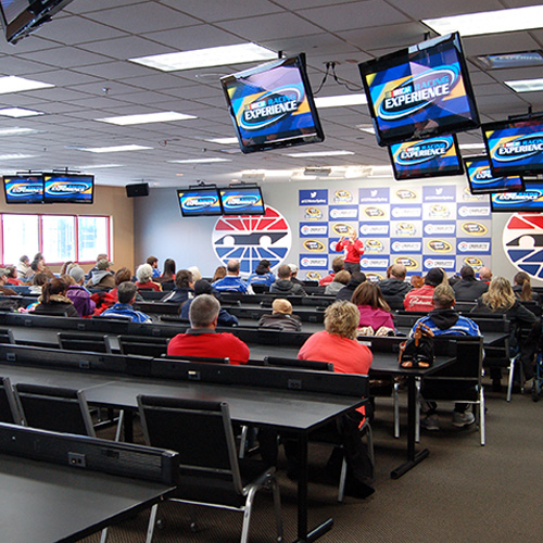 NASCAR driving orientation