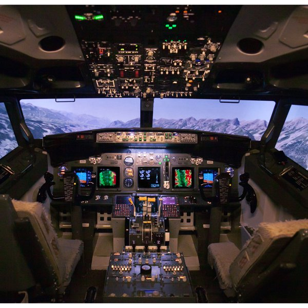 Boeing 737 Flight Simulator in DC