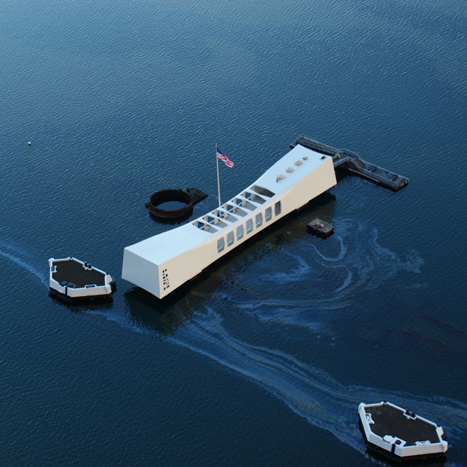 Tour the Pearl Harbor USS Arizona Memorial