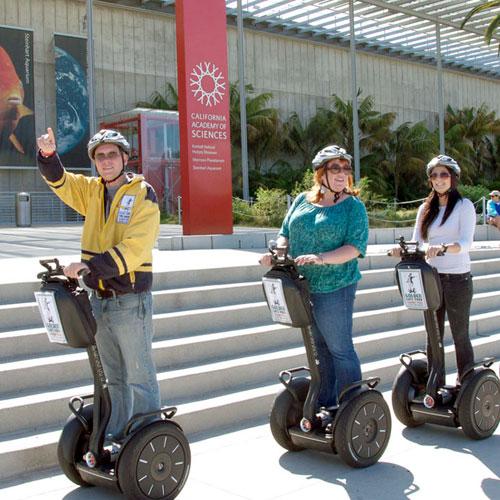 Segway Tour in San Francisco Golden Gate Park