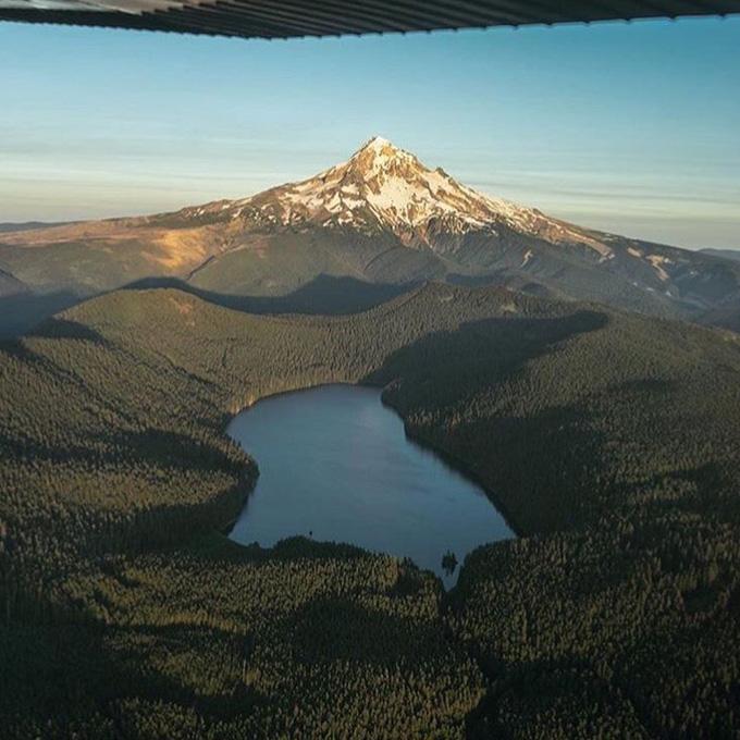 Scenic Flight From Portland