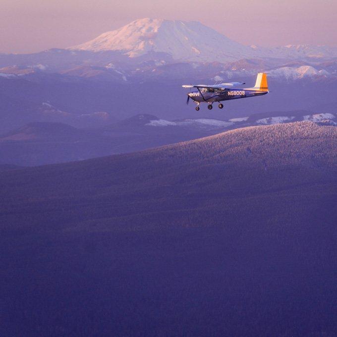 Mount Hood Flight