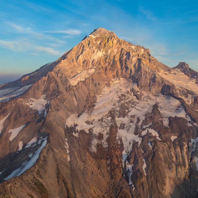 Mount Hood Flight From Portland